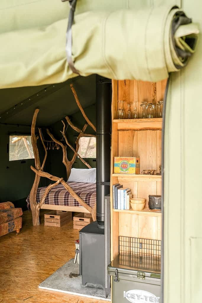 Glamping Site Hay on Wye Family Holiday