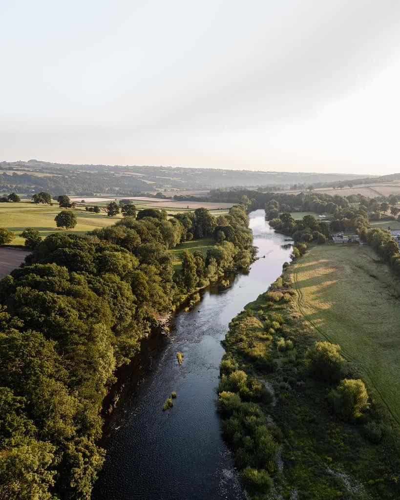 River Wye Hay on Wye UK