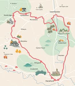 Cycle trips herefordshire